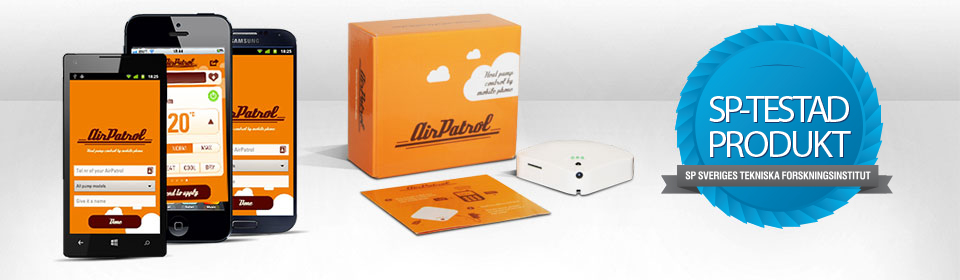 AirPatrol - fjärrstyrning av värmepumpar